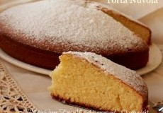 Torta nuvola soffice facile veloce | Pan nuvola dolce con olio evo