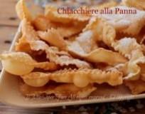 Chiacchiere alla panna croccanti e golose  ricetta facile